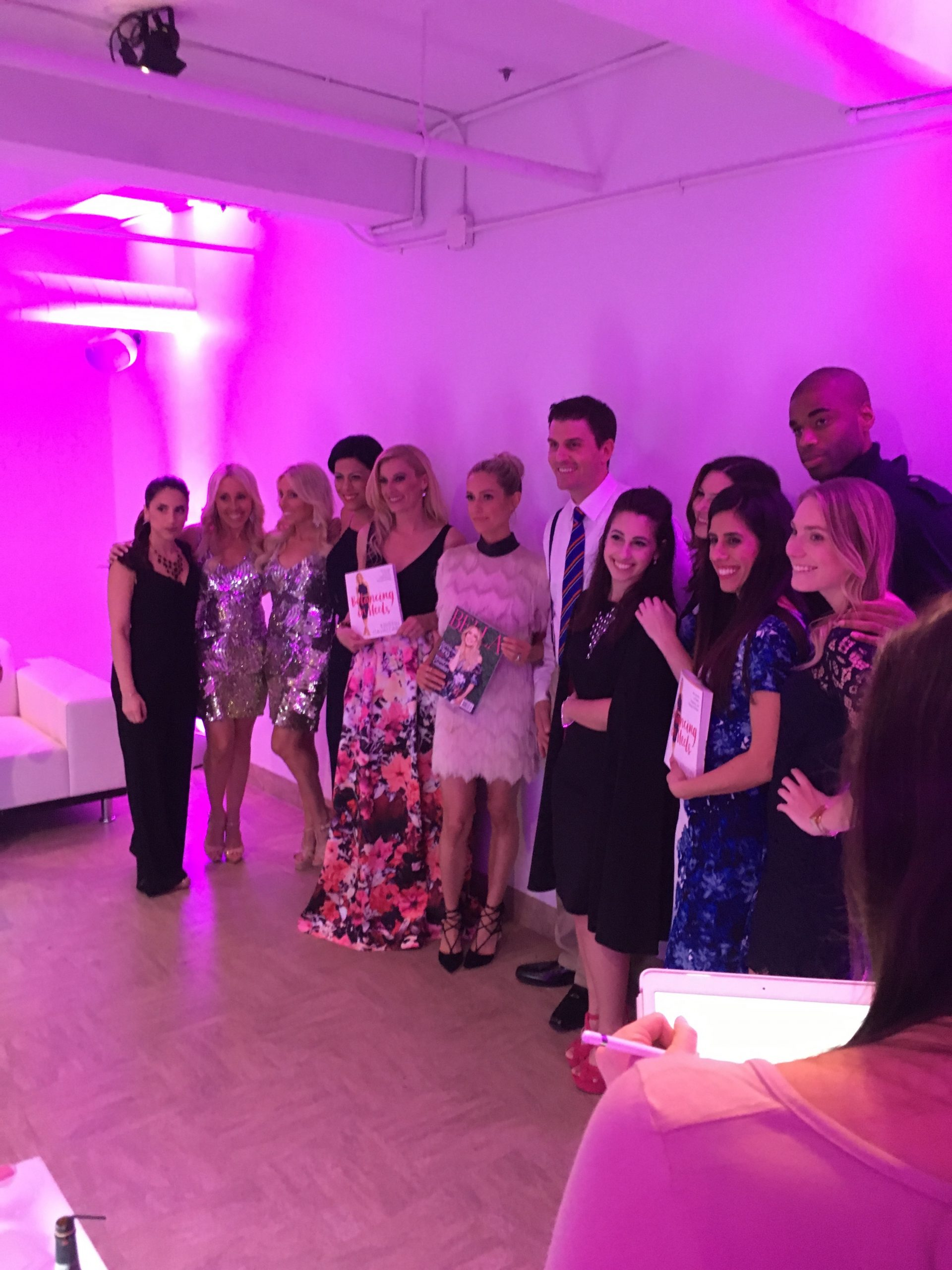 Bella Magazine Party with covergirl Kristen Cavallari