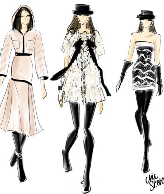 Paris Fashion week top looks