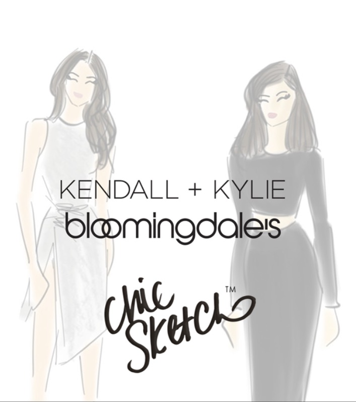 Kendall and Kylie for Bloomingdale's