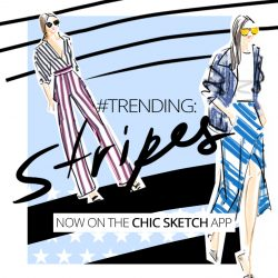 Show Off Your Stripes with Chic Sketch!