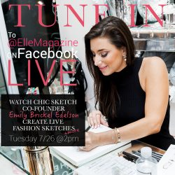Elle Magazine: LIVE chat with Emily Brickel Edelson