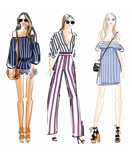 AVE STYLES PRESS COVERAGE: CHIC SKETCHES