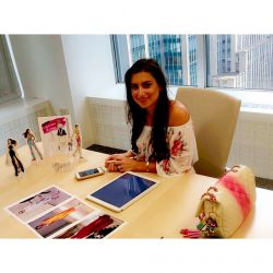 Elle Magazine: LIVE with Emily Brickel Edelson of Chic Sketch
