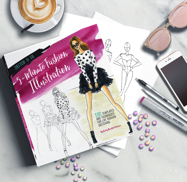 New Book: Sketch and Go 5 Minute Fashion Illustration