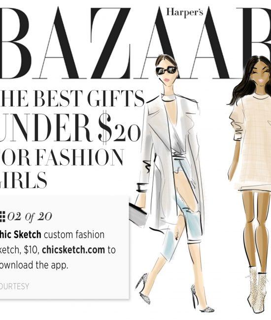 HarperBazaar: THE BEST GIFTS UNDER $20 FOR FASHION GIRLS