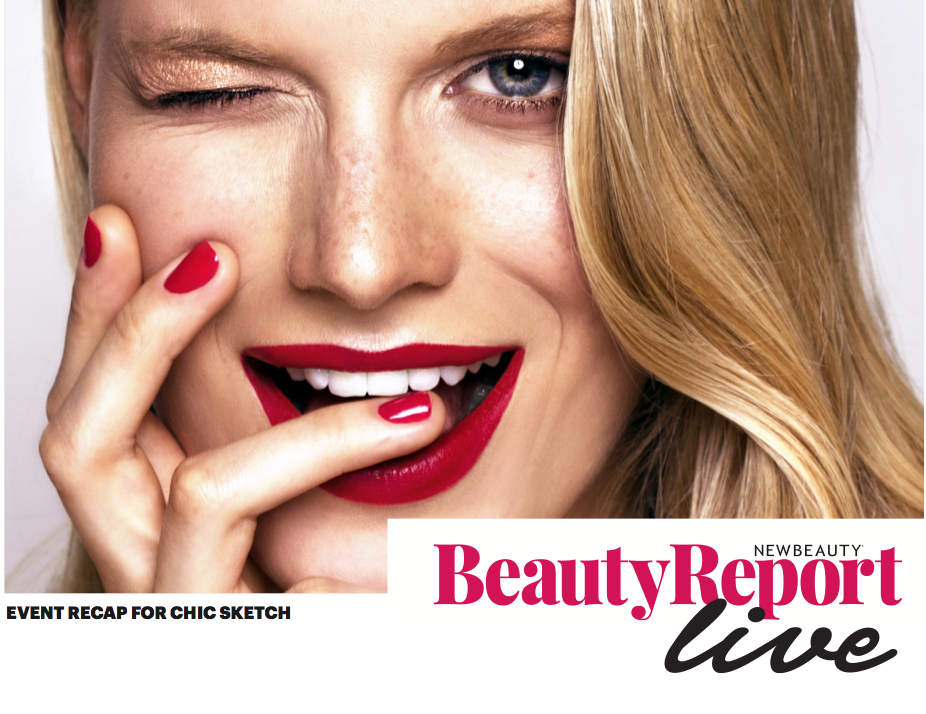 Chic Sketch x New Beauty Magazine