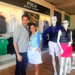 Chic Sketch for POLO Ralph Lauren at the U.S. Open 2018
