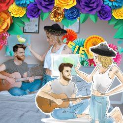 Cinco De Mayo Virtual Sketch Party