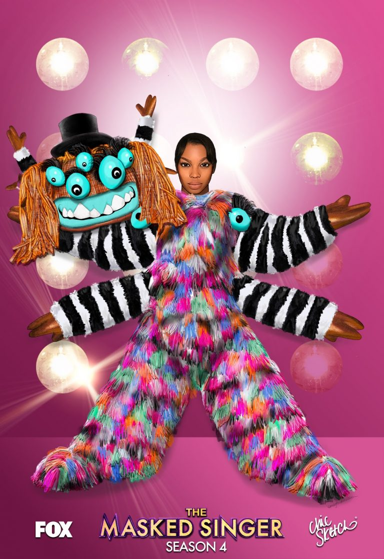 It's Here: Masked Singer X Chic Sketch App